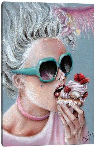 Eat Cake Canvas Art Print