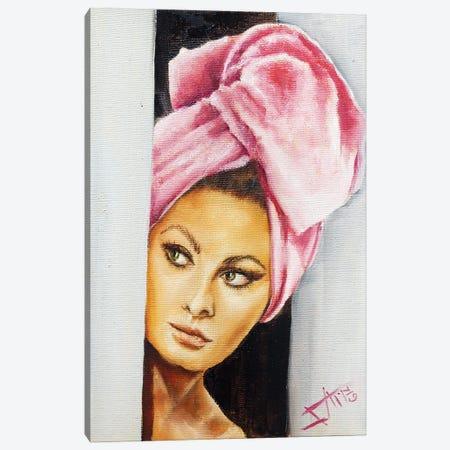 Sofia II Canvas Print #NSD52} by Salma Nasreldin Canvas Wall Art