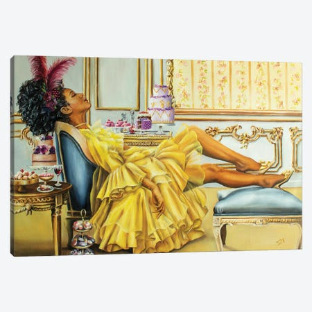 Regency Canvas Print #NSD59} by Salma Nasreldin Canvas Art