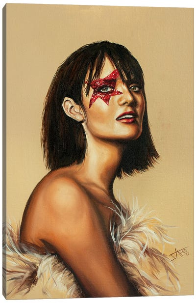Super Star Canvas Art Print