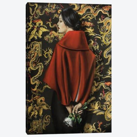 Facing the dragon Canvas Print #NSD79} by Salma Nasreldin Canvas Artwork