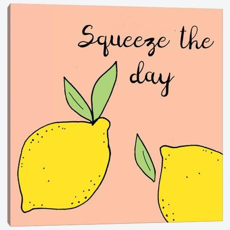 Lemon Squeeze I Canvas Print #NSI1} by Natalie Sizemore Canvas Artwork