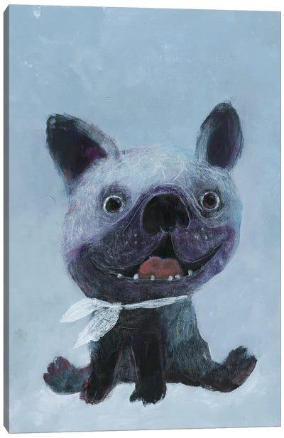 Happy Dog Canvas Art Print