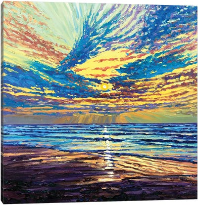 Glory Be Canvas Art Print