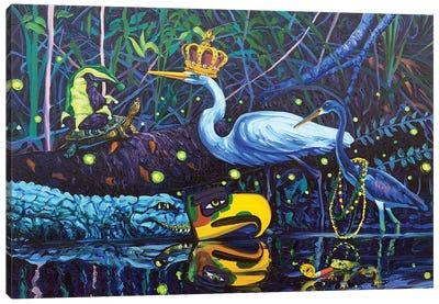 Laissez les Bons Temps Rouler Canvas Art Print