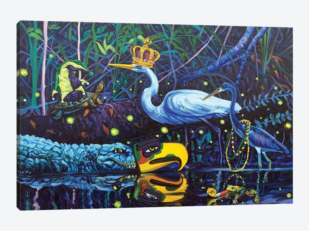 Laissez les Bons Temps Rouler by Mark Nesmith 1-piece Canvas Art Print