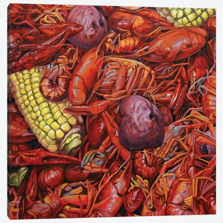 Mudbugs Canvas Print #NSM15} by Mark Nesmith Canvas Wall Art