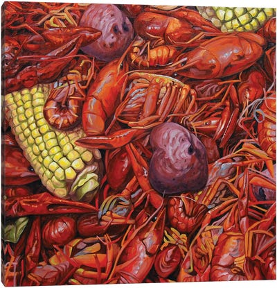 Mudbugs Canvas Art Print