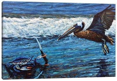 On Guard Canvas Art Print