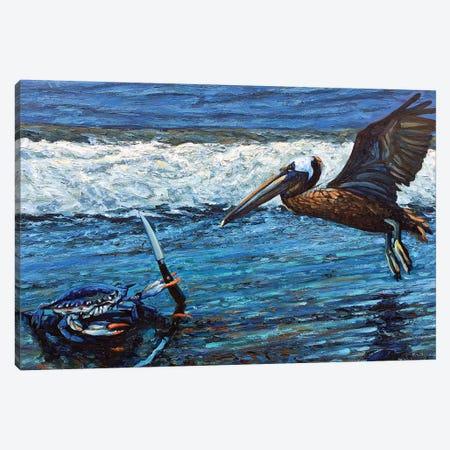 On Guard Canvas Print #NSM17} by Mark Nesmith Canvas Art