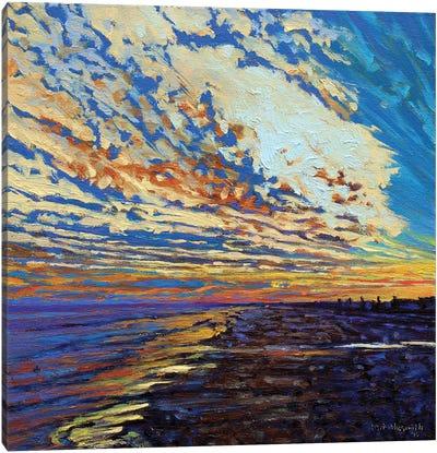 Puesta del Sol Canvas Art Print