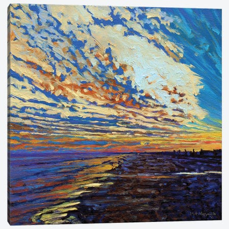 Puesta del Sol Canvas Print #NSM19} by Mark Nesmith Canvas Print