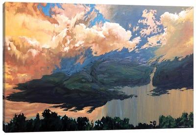 Approaching Canvas Art Print
