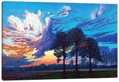 The Three Graces Canvas Art Print