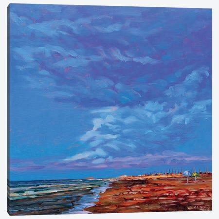 Two Umbrellas Canvas Print #NSM33} by Mark Nesmith Canvas Print