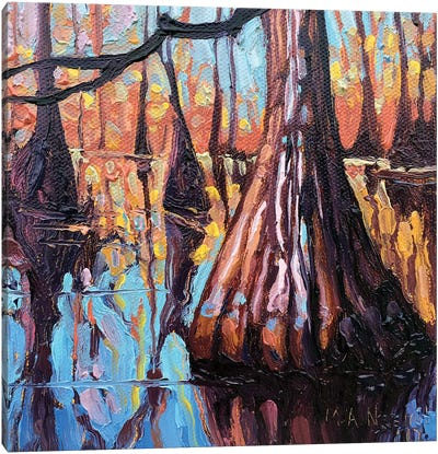 Bayou Queen Canvas Art Print