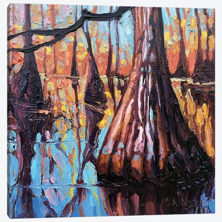 Bayou Queen Canvas Print #NSM3} by Mark Nesmith Canvas Art