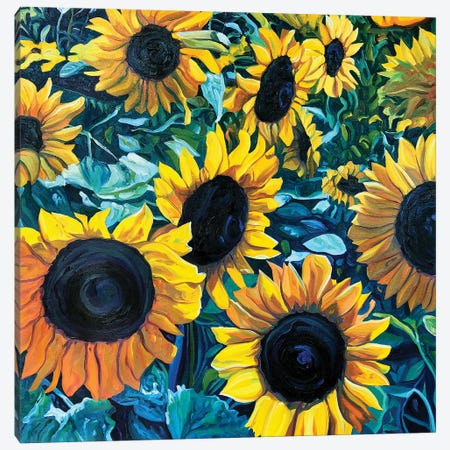Fields of Gold Canvas Print #NSM8} by Mark Nesmith Canvas Art