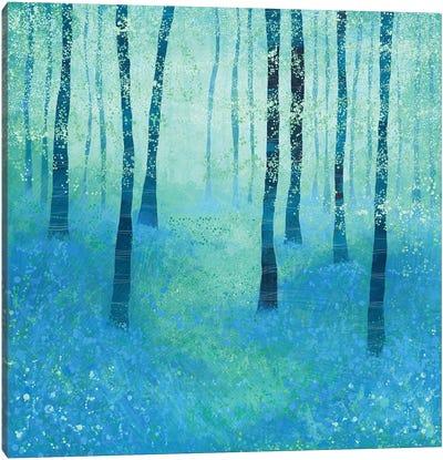 Bluebells, Challock Canvas Art Print