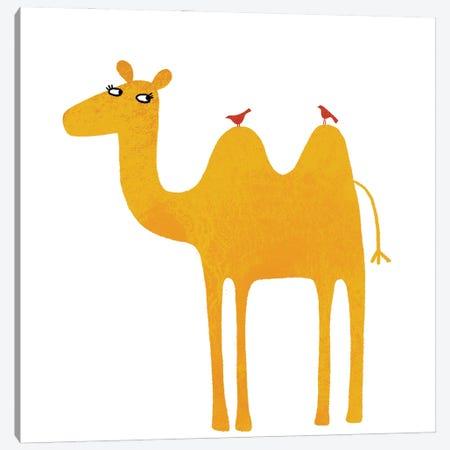 Camel Canvas Print #NSQ12} by Nic Squirrell Canvas Art Print
