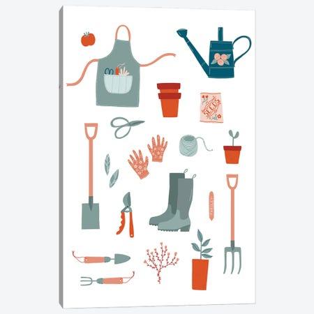 Gardening Canvas Print #NSQ148} by Nic Squirrell Canvas Wall Art