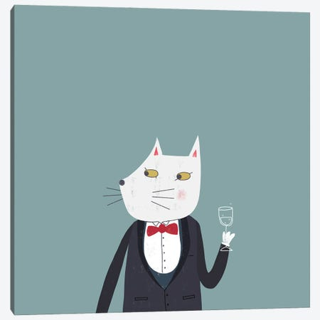 Cheers! Canvas Print #NSQ14} by Nic Squirrell Canvas Art
