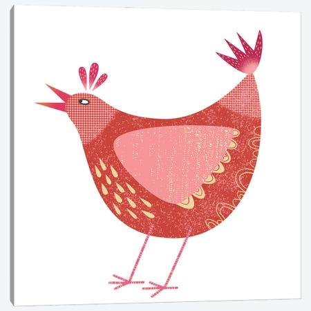 Chicken Canvas Print #NSQ15} by Nic Squirrell Canvas Art