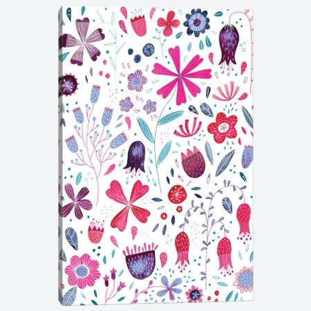 Kennington Flowers Canvas Print #NSQ167} by Nic Squirrell Canvas Print