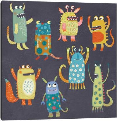 Monster Fun Canvas Art Print