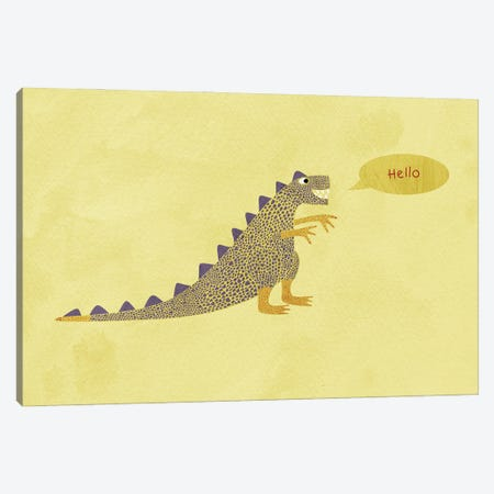 Dinosaur Canvas Print #NSQ18} by Nic Squirrell Canvas Art Print