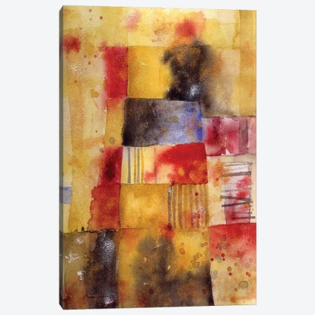 September Abstract Watercolor Canvas Print #NSQ194} by Nic Squirrell Canvas Art
