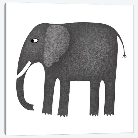 Elephant Canvas Print #NSQ19} by Nic Squirrell Canvas Art Print