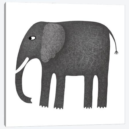 Elephant Canvas Print #NSQ19} by Nic Squirrell Canvas Art Print