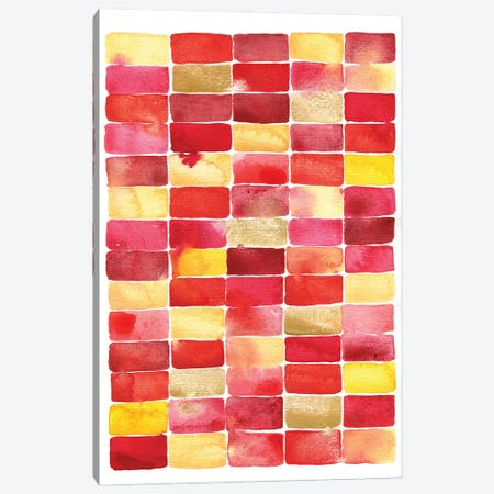 Pavillion Watercolor Abstract Canvas Print #NSQ203} by Nic Squirrell Canvas Print