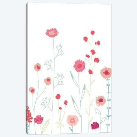 Plymouth Flowers Canvas Print #NSQ216} by Nic Squirrell Art Print