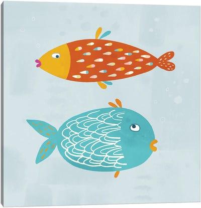 Sarcastic Fish Canvas Art Print