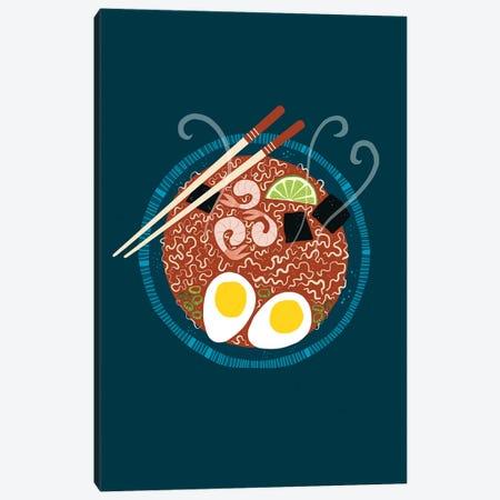 Ramen Noodles Canvas Print #NSQ222} by Nic Squirrell Art Print