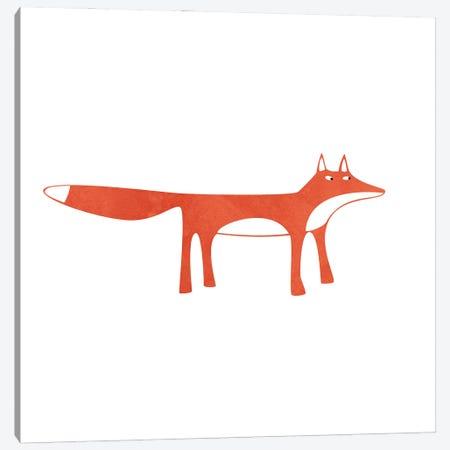 Red Fox Canvas Print #NSQ223} by Nic Squirrell Canvas Art Print