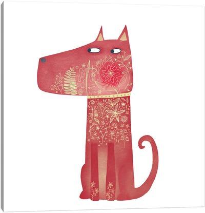 Flowerhound Canvas Art Print