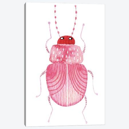 Sarcastic Beetle Canvas Print #NSQ236} by Nic Squirrell Art Print