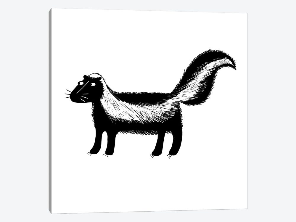 Skunk by Nic Squirrell 1-piece Art Print