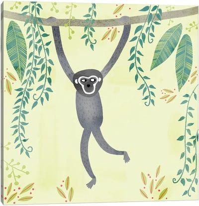 Gibbon Canvas Art Print