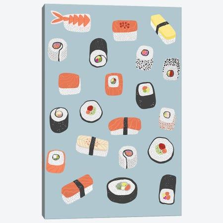 Sushi Roll Maki Nagiri Canvas Print #NSQ263} by Nic Squirrell Canvas Print