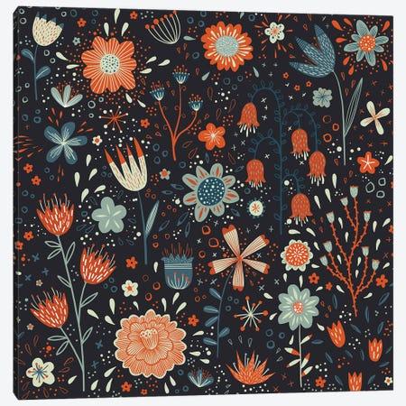 Spring Fever Dark Canvas Print #NSQ269} by Nic Squirrell Art Print