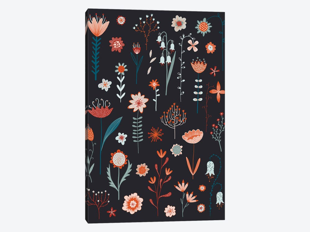 Flowers Of The Summer Dark by Nic Squirrell 1-piece Canvas Wall Art