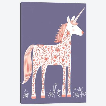 Unicorn Canvas Print #NSQ292} by Nic Squirrell Canvas Artwork