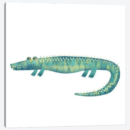 Alligator 3-Piece Canvas #NSQ2} by Nic Squirrell Canvas Print