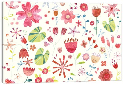 Wild Meadow Canvas Art Print