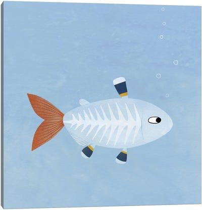 X-Ray Tetra Fish Canvas Art Print