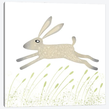 Hare Canvas Print #NSQ31} by Nic Squirrell Canvas Print